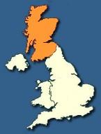 Navigation Map of UK