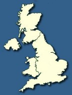 Navigation Map of UK